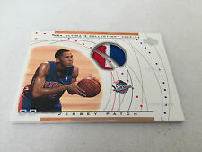 Tayshaun Prince 2002-03 Upper Deck Ultimate Collection Jersey Patch /15 3 Color