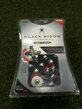 SALE: Black Widow Golf Spikes 22 Cleats 6mm small metal threat black/white/red