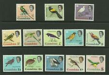 1963 Birds Set to £1, Sg 193-205, Mounted Mint.  {Imp 171}