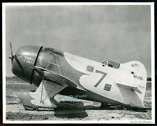 1932 DICK WHITTINGTON Air Races Photo ~ GRANVILLE BROS. GEE BEE R-2 RACER PLANE