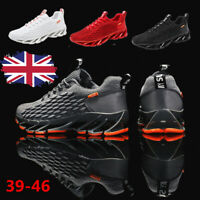 Men's Trainer Casual Walking Sneakers Sports Athletic Running Tennis Shoes Gym