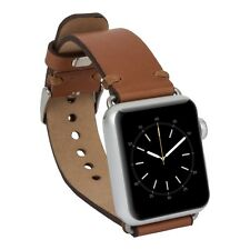 Benito Watch Genuine Leather Band for Apple Watch 38mm, 42mm (Handmade)