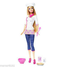 Barbie Doll I Can Be Chef Career Doll New