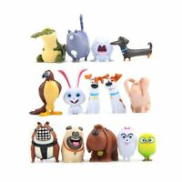 The Secret Life Of Pets Max Snowball Action Figure Doll Kids Toy Gift 14PCS