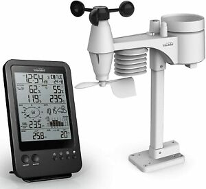 Weather Station  Radio Control  Professional 7-in-1 Wireless Sensor  UK Version