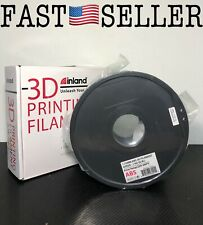 Inland 1.75mm ABS 3D Printer Filament - 1kg Spool - 2.2 lbs - NEW! SEALED!!