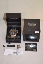 Croton Chronomaster Chronograph Mens Watch # CC311239SSBL