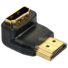 HDMI 1.4V Male Plug to Female 90 Degree Right Down Angled HDTV Adapter Converter