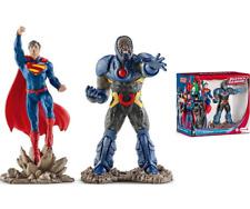 Superman et Darkseid Figurines Scenary Pack Jouets DC Comics Jeux Schleich 22509