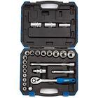 Draper Expert 1/2in Drive 24 Piece Metric Socket & Accessory Set 16362