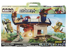 GI Joe Kre-o Cobra Terrordrome new sealed set Skyhawk Serpentor complete Lego
