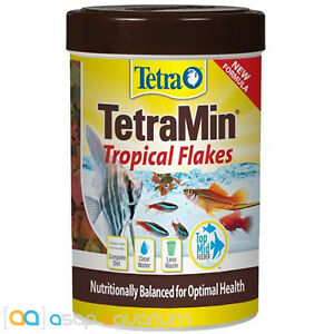 Tetra TetraMin Tropical Flakes Fish Food 1 oz Fast Free USA Shipping