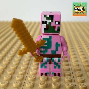 LEGO Minecraft: Zombie Pigman, GOLD SWORD, 21122, 21130, 21139, 2015