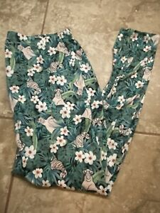 NEW WITH TAGS TORRID DISNEY JUNGLE BOOK CROP LEGGINGS SIZE 1 PLUS