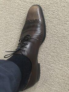 Authentic Yves Saint Laurent Rive Gauche Men's Brown Shoes