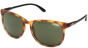 NEW Smith Mt Shasta Sunglasses-Matte Honey Tortoise-Chromapop Polarized!