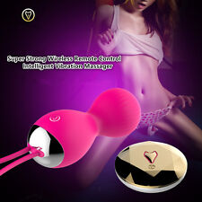 Wearable Wireless Remote Control Rechargable Double Shrink Ball Vibrate in Panty