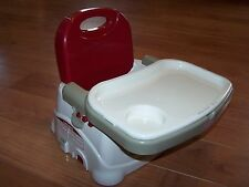 Fisher-Price Healthy Care Deluxe Booster Child Seat Portable High Chair EUC!
