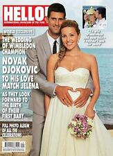 HELLO Magazine Novak Djokovic,Antony Costa BLUE,Kirsty Gallacher,Prince Amadeo