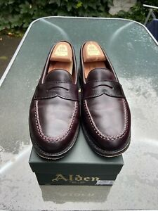 Alden Cordovan Shell No. 8 LHS Loafer 9.5uk 10Us Burgundy