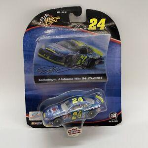 2004 Winners Circle 1/64 Jeff Gordon #24 Pepsi Talladega Win Raced Version  🔥