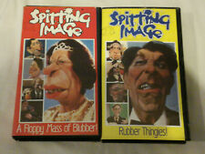 SPITTING IMAGE X 2 VHS Small Box