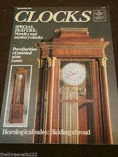 Monthly Horology Clocks Antiques & Collectables Magazines