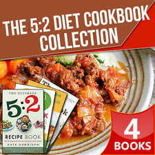 The 5:2 Diet Cookbook,The Ultimate 5:2 Diet,Hamlyn All Colour Cook,4 Book Set