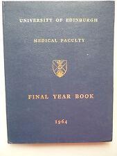 University of Edinburgh Final Year Book 1964 Universität Abschlußjahrbuch