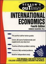 Schaum's Outline of International Economics (Paperback or Softback)