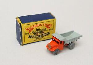 Matchbox Lesney MB 6 Quarry Truck - RARE SCRIPT BOX