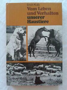 Vom Leben und Verhalten unserer Haustiere, DDR-Tierfachbuch 1987