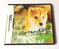 USED Nintendo DS Nintendogs Shiba & Friends JAPAN JAPAN import Japanese game