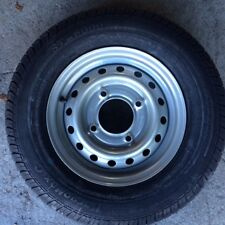 "1x 165R13C new trailer tyre  Wheel 4 Stud 5.5"" PCD Ifor Wessex READ DESCRIPTION"
