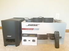 Bose Cinemate Gs Series Ii Home Theater System- Complete- Tested. Manual And Box