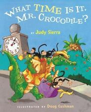 What Time Is It, Mr. Crocodile?-ExLibrary