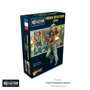 FRENCH RESISTANCE SQUAD - WARLORD GAMES - BOLT ACTION - 28MM 1/56
