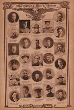 World War I Roll of Honor 1918 Deaths of Heros WWI #57