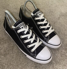 Converse All Star Negro Zapatillas Size UK 5 EU 38