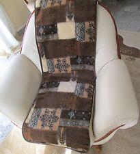 Housse de fauteuil, jeté hiver laine mérinos - 1 pièce 50x200 cm