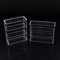 1/12 Dollhouse Miniature Acrylic Display Case Cupboard Showcase Display Sh Dz
