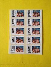US CVP91 Flag Forever 1st Class Mail Sheet of 10 2014 Post Office Fresh MNH