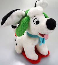 Genuine 101 Dalmations Disney vibrating pull back Plush - Winter Christmas (P)