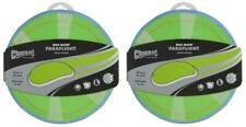 (2 Pack) Chuckit! Max Glow Paraflight Dog Toy, Large 9.75""