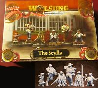 Micro Art W00100 The Scylla Club Starter (6) Miniatures Steampunk Halfling Mob
