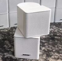1 Bose MINT Jewel Double Cube Premium Speaker Flawless Multiple Available White