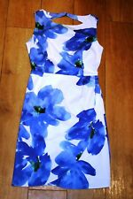 NEW! PHASE EIGHT floral dress SIZE 10 wedding prom vintage lined 50's STUNNING!