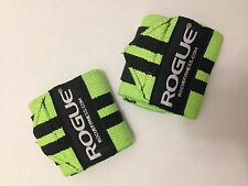 "Rogue Fitness Wrist Wraps, Short 12"", Green, Power/Weight Lifting, Crossfit, WOD"