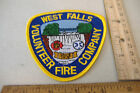 ~WEST FALLS VOLUNTEER FIRE COMPANY~FABRIC PATCH~