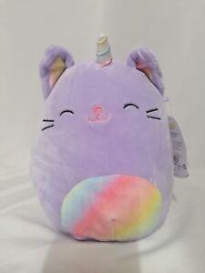 Squishmallows 19cm Cienna The Caticorn  Kelly Toy BNWT 7.5 Inch